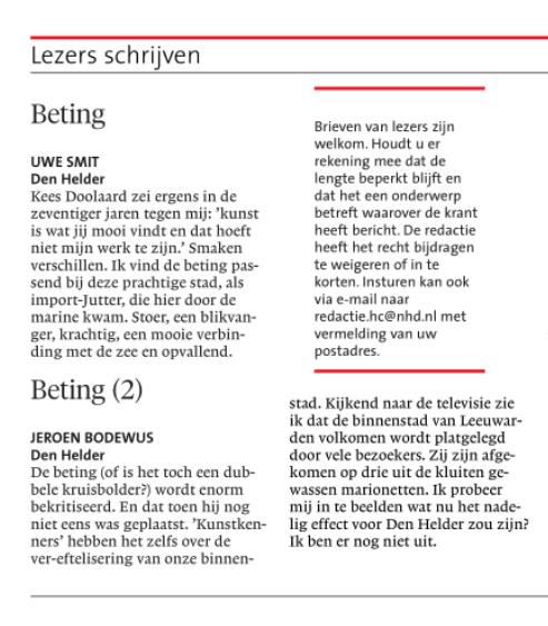 Helderse Courant, 1 september 2018