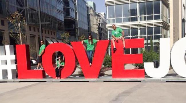#LoveJo, waar onbekend (foto Het Parool)