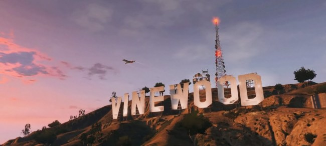 Vinewood (foto Grand Theft Auto V::Dutch Tech Blog)