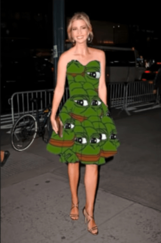 Ivanka in Pepe-dress (Craig Mason 16-11-18)