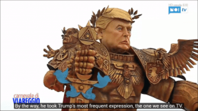 Trump's most frequent expression