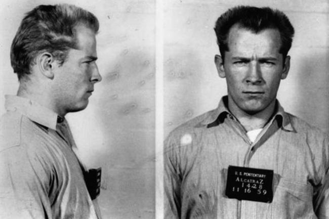 "Gangster James ""Whitey"" Bulger's 1959 mugshot (foto Donaldson Collection