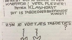 Zijn je voetjes taboetjes? (foto Hendrik Jan Korterink)