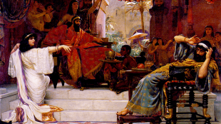 Ernest Normand - Esther denouncing Haman (foto Wikipedia)