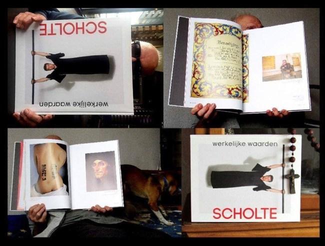 Inkijkjes in Holtzapffels Roofboek over Scholte (foto Facebook)