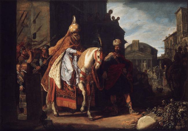 Pieter Pieterszoon Lastman - The Triumph of Mordechai (foto Wikipedia)