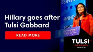 Hillary goes after Tulsi Gabbard (foto tulsi2020.com)