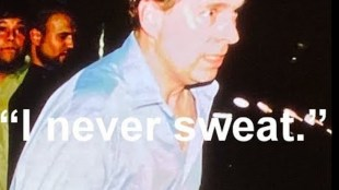 Prince Andrew: 'I never sweat' (foto YouTube)