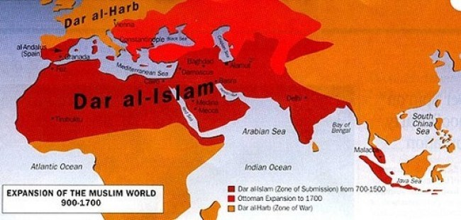 Expansion of the muslim world 900-1700 (fot What Does It Mean)