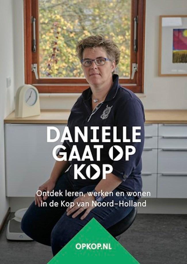 Koploper Daniëlle Bischoff Tulleken (foto Op Kop)