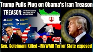 Trump Pulls Plug on Obama's Iran Treason (foto drop.space)