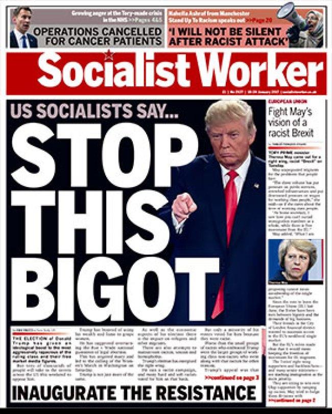 Stop this bigot (socialistworker.co.uk)