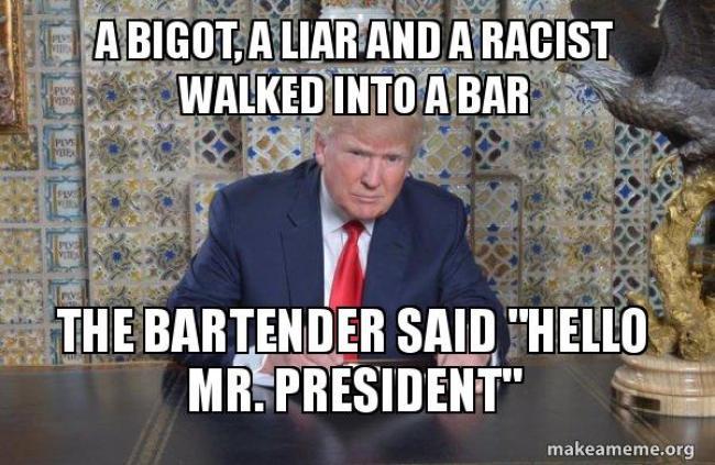 Walked into A bar (foto Make A Meme)