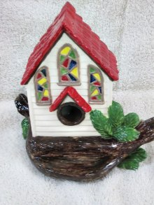 The bird house by Angela Walters