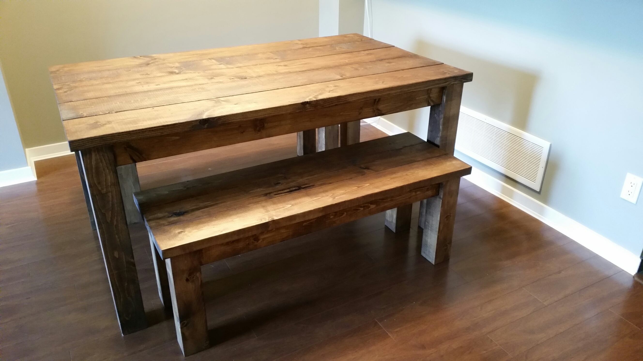 benches dining tables kitchen table benches Provincial Pine Table and Bench set1