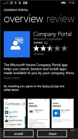 Windows Phone Intone