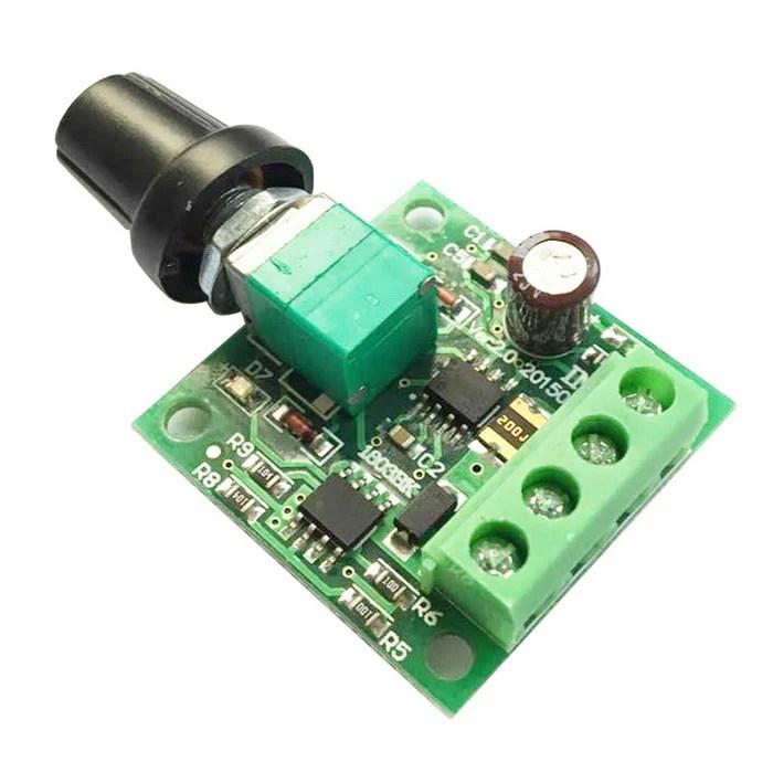 DC Motor PWM Speed Regulator 18V, 3V, 5V, 6V, 12V-2A speed control