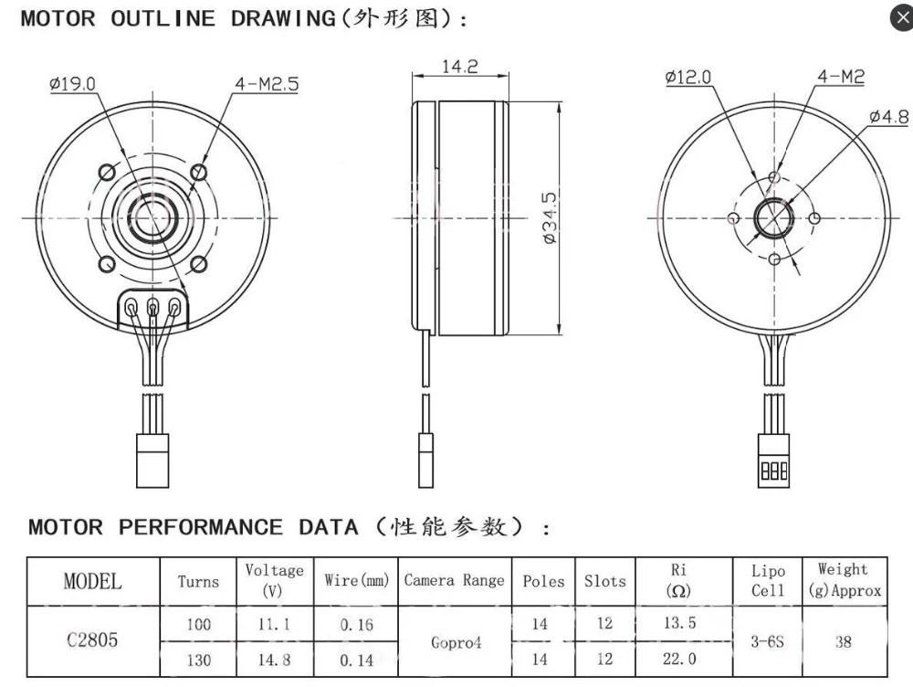 Gimbal Motor Wiring Diagram Motor Connections Diagram, Motor
