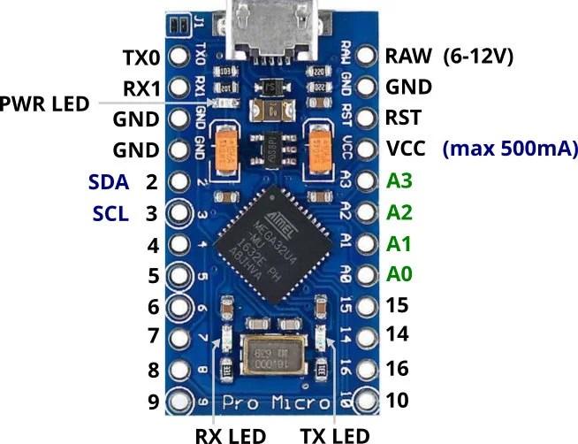 Pro Micro 5V 16M Mini Leonardo Micro-controller Development Board