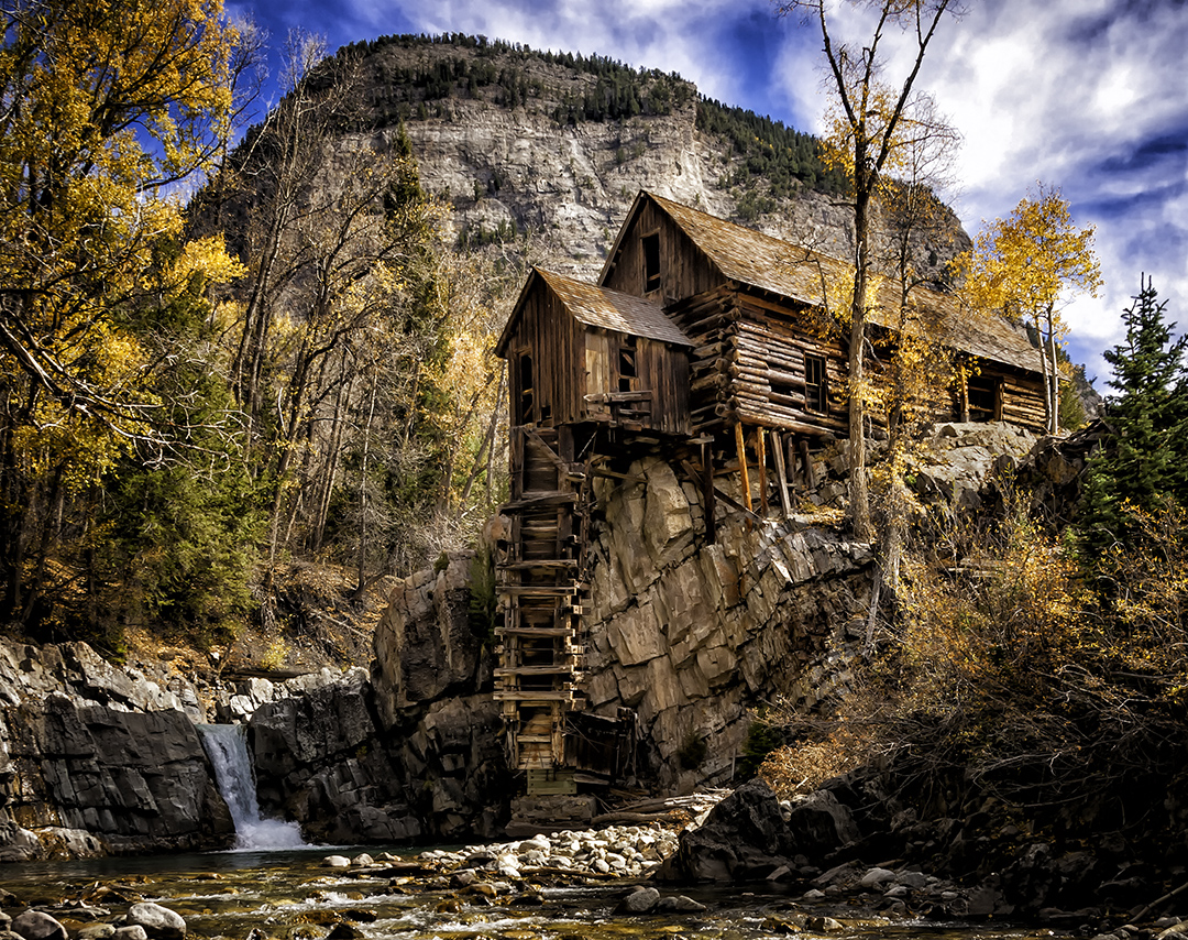 Fall In Colorado Wallpaper Colorado Fall Foliage Amp The Crystal Mill Robwilbourn