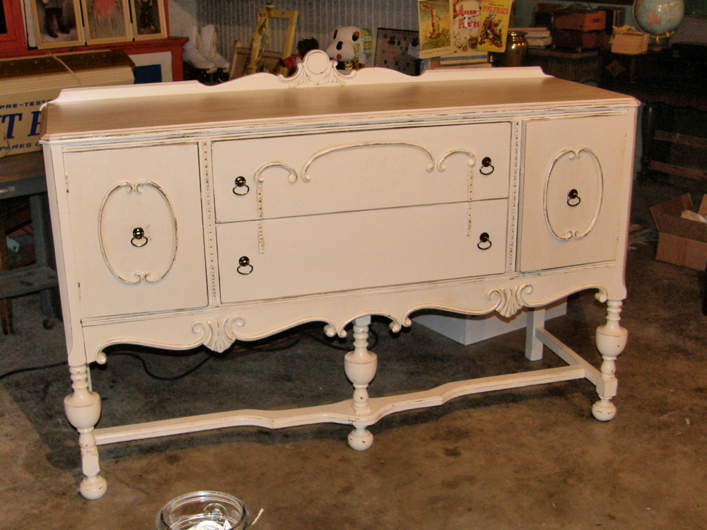 Shabby Chic Buffet | Vintage Chic Buffet French Shabby Distressed ...