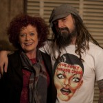 Rob Zombie and Patricia Quinn