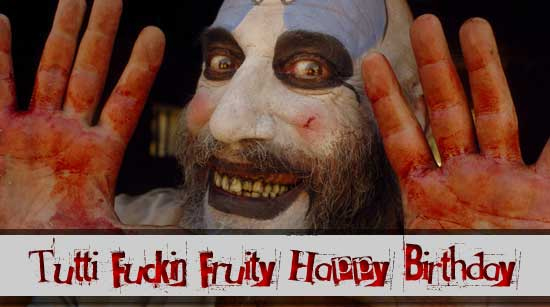 Happy Birthday Sid Haig