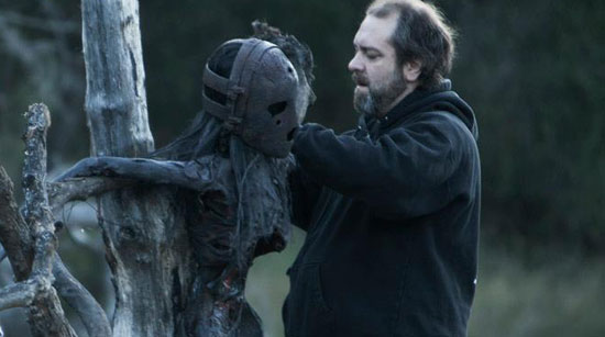 SFX Wayne Toth on the set of The Lords of Salem