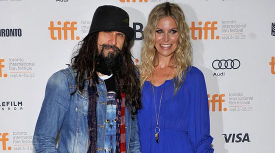 Rob and Sheri Moon Zombie at the Lords of Salem premiere