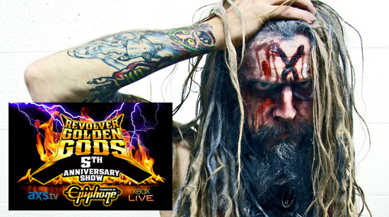 Rob Zombie Golden God 2013 Inductee