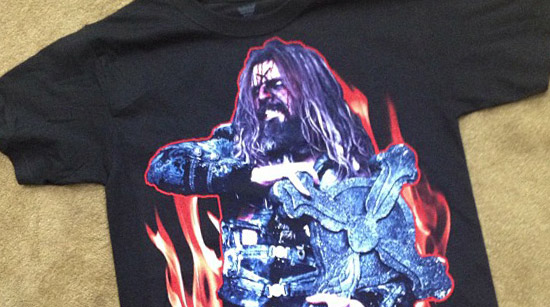 Rob Zombie Mayhem T-shirt