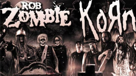 Korn Zombie Night of the living Dreads