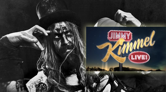 Rob Zombie Jimmy Kimmell