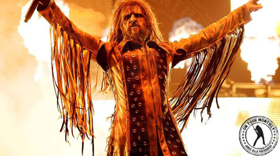 On Tour Monthly Rob Zombie. Photo by James Villa
