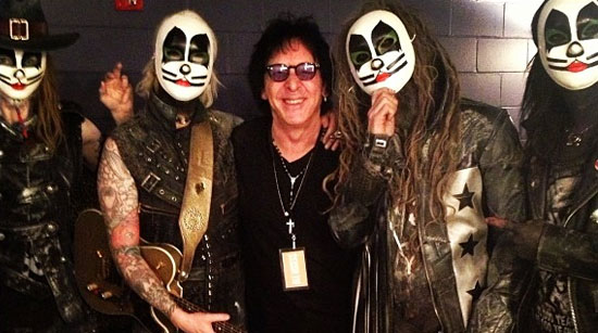 Peter Criss Rob Zombie