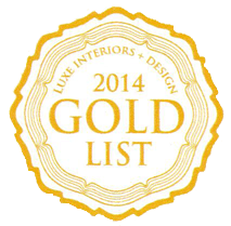 2014 Luxe Interiors and Design GOLD list