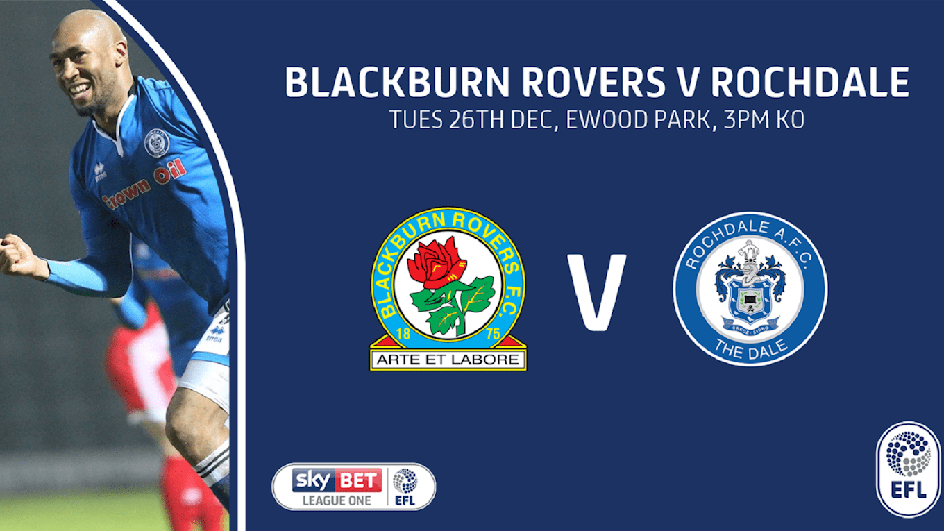 Arte Junior Replay Blackburn Rovers Vs Rochdale On 26 Dec 17 Match Centre