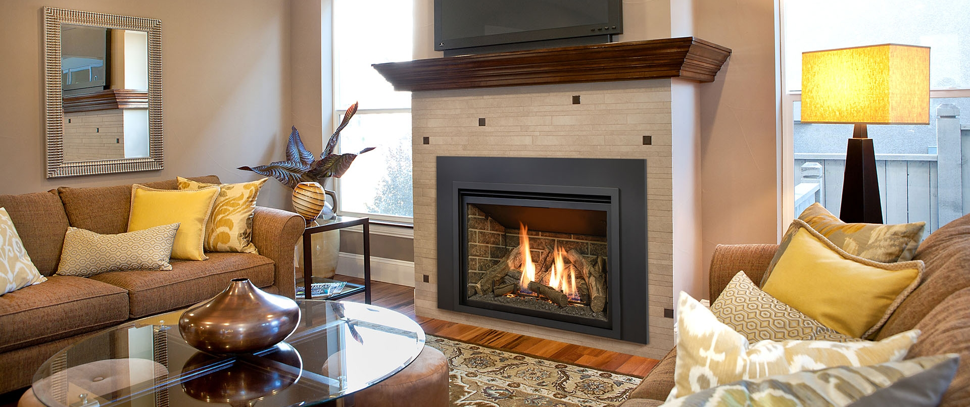 Convert Fireplace To Gas Burning Rochester Fireplace Gas Wood Inserts Fireplaces And Stoves