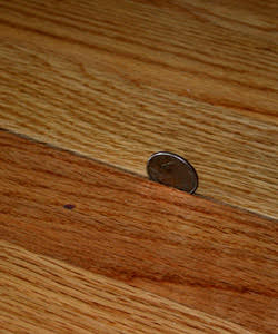 Ice damming rochester hardwood floor for Hardwood floors expansion gap