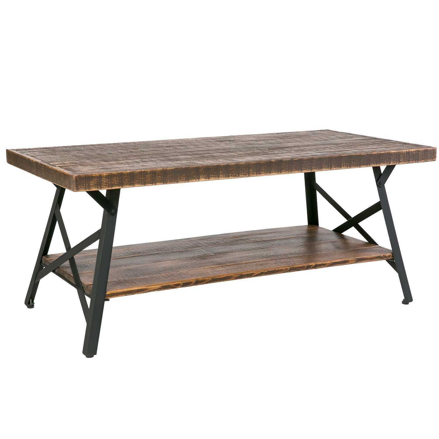 End Tables With Metal Legs Rustic Wood Coffee Table With Metal Legs End Table Living