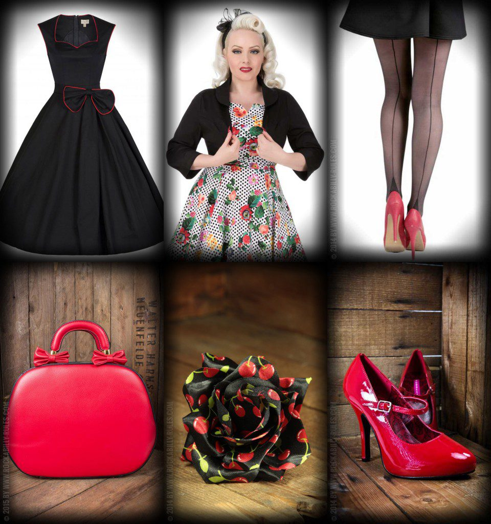 50er Jahre Outfit Festliche 50er Jahre Party-outfits - Rockabilly Rules Magazin