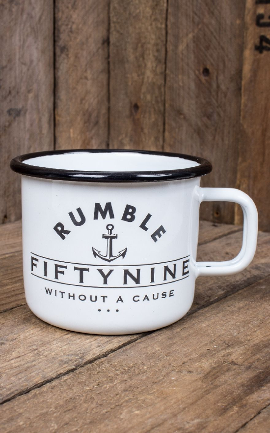 Becher Mit Bild Rumble59 Email Becher Tasse Black As Your Soul