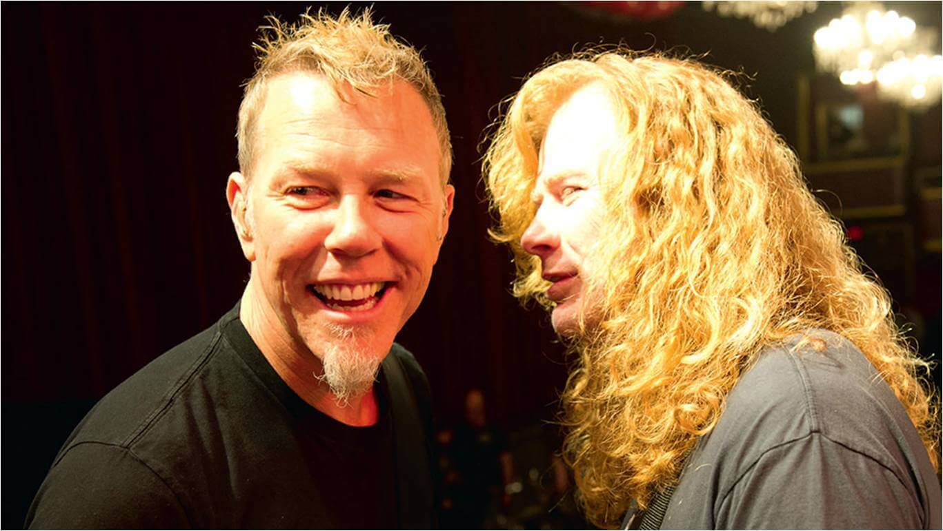 The Cars Band Cover Wallpaper Dave Mustaine Reveals His Favorite Metallica Album