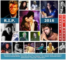 2016 Tough Year for Rock Legends