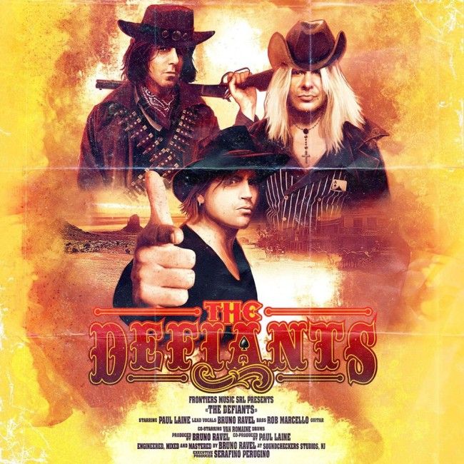 THE DEFIANTS - The defiants (2016)