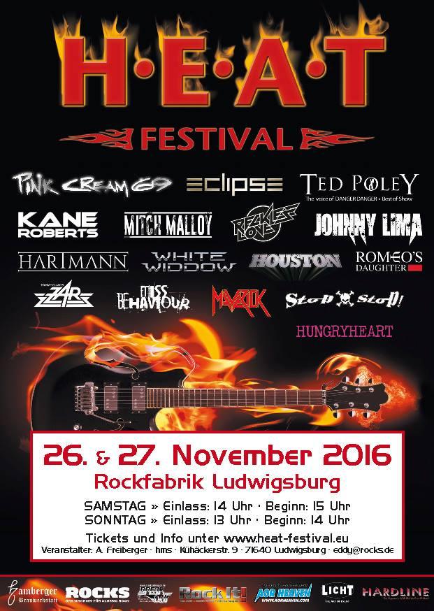 H.E.A.T Festival 2016 -  26 y 27 noviembre