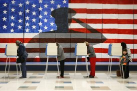 First-time and veteran voters turn out in Rockbridge County