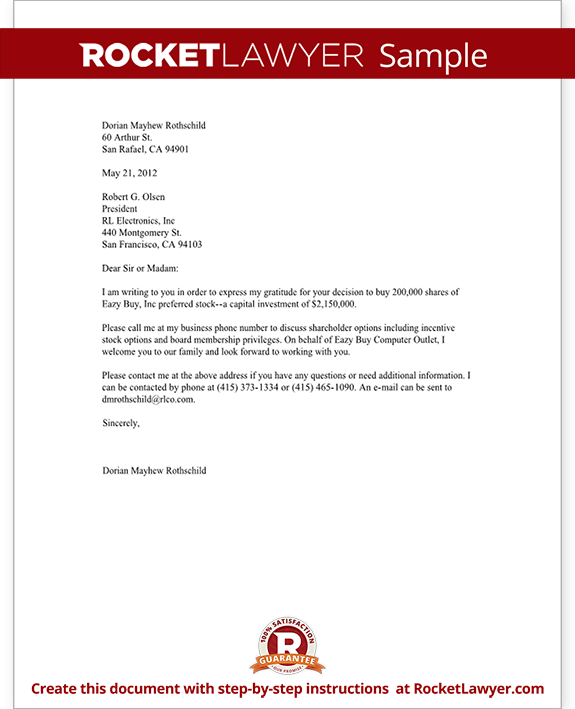 Business Letter Format Business Letter Template Free Form Letter With Sample