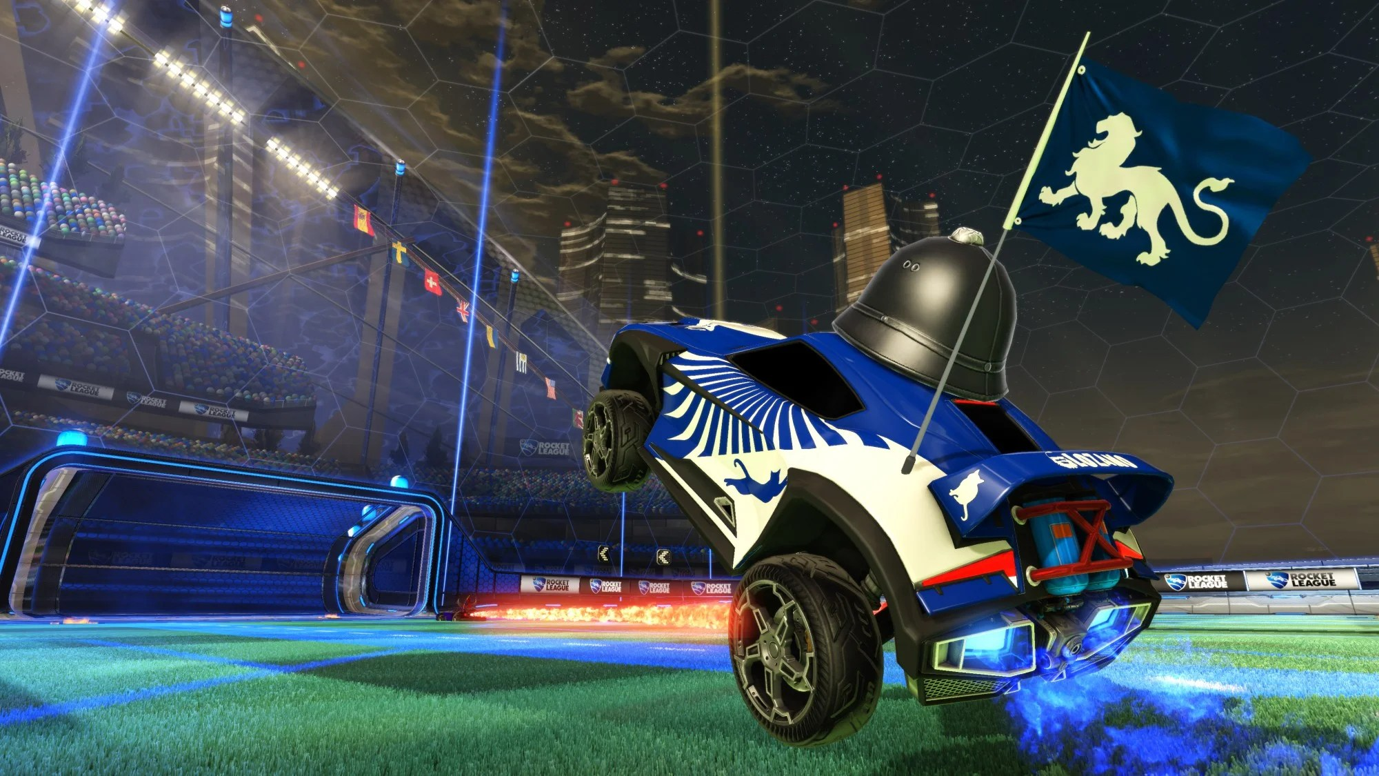 Rocketleague Garage Chivalry Medieval Warfare Flags In V1 05 Rocket League