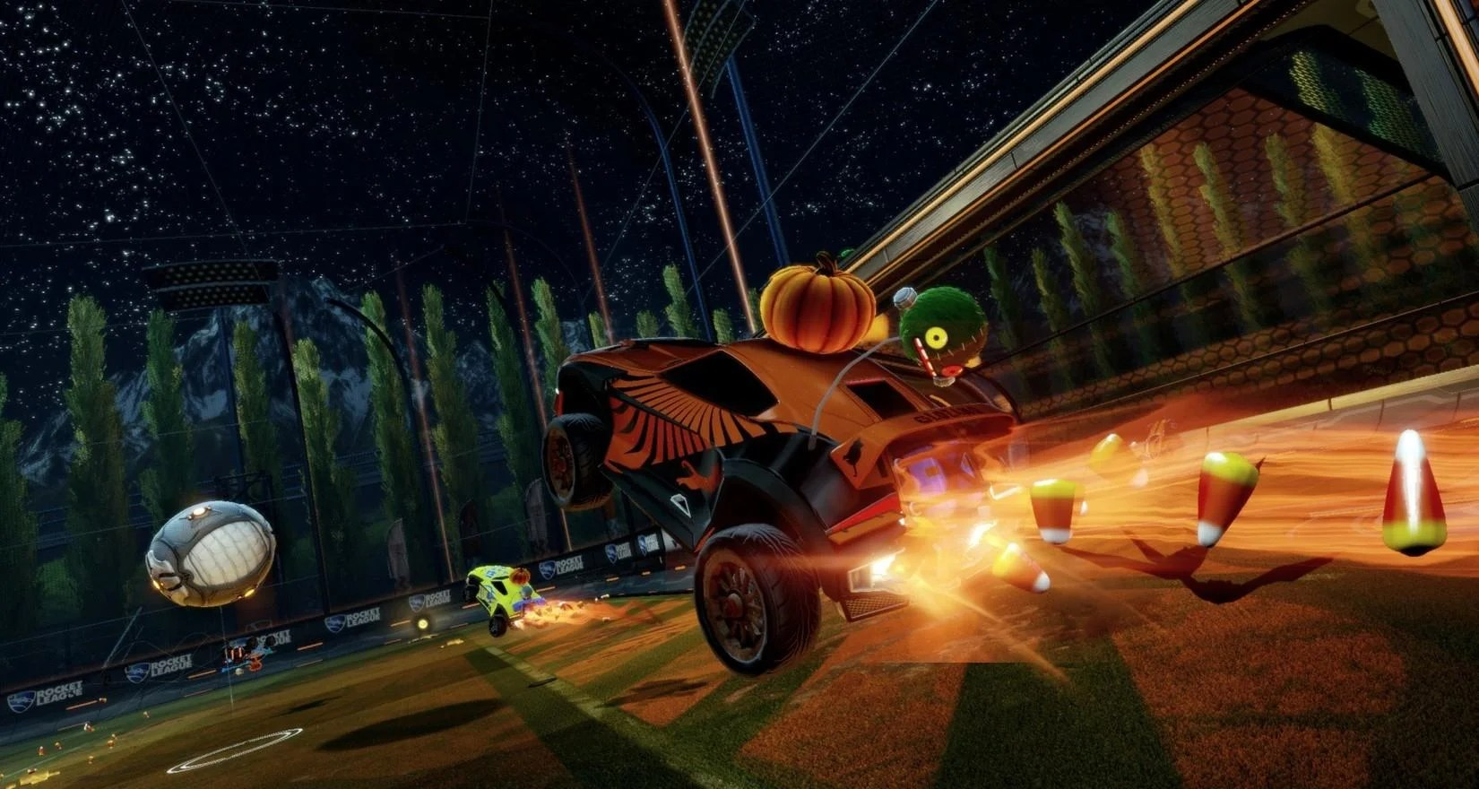 Rocketleague Garage Free Halloween Items Coming To Rocket League Rocket
